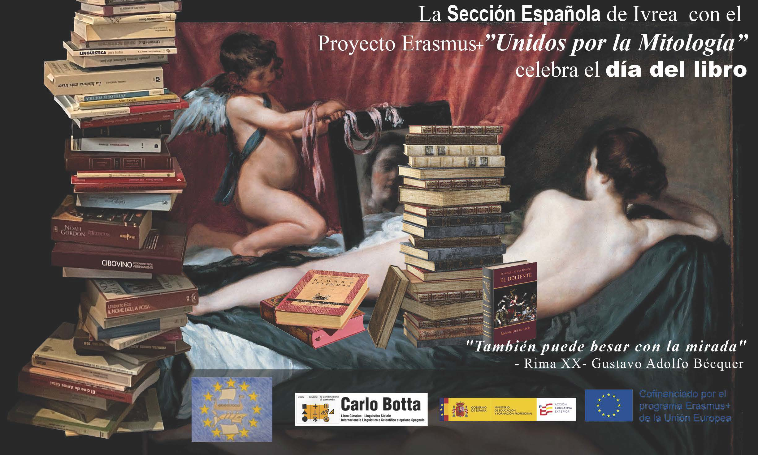 Erasmus plus & dia del libro